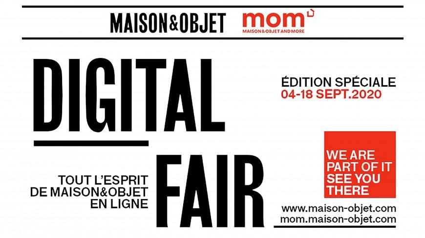 Maison&Objet - Digital Fair : les tendances de l'année 2021